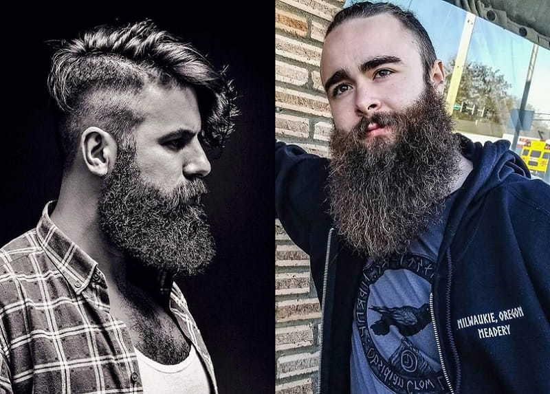 Barbe viking audacieuse