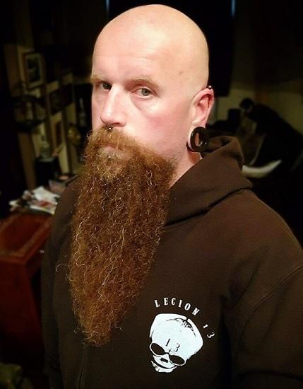 Barbe de viking bouc