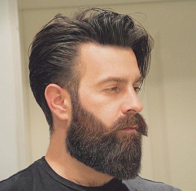 Barbe viking en forme